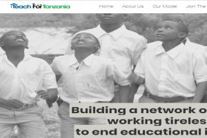 Teach for Tanzania Website