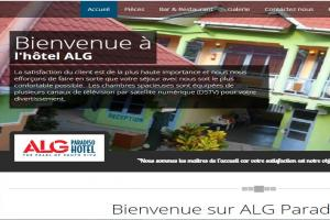 ALG Paradiso Hotel website