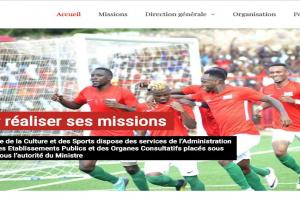 Burundi Ministry of Culture and Sport website
